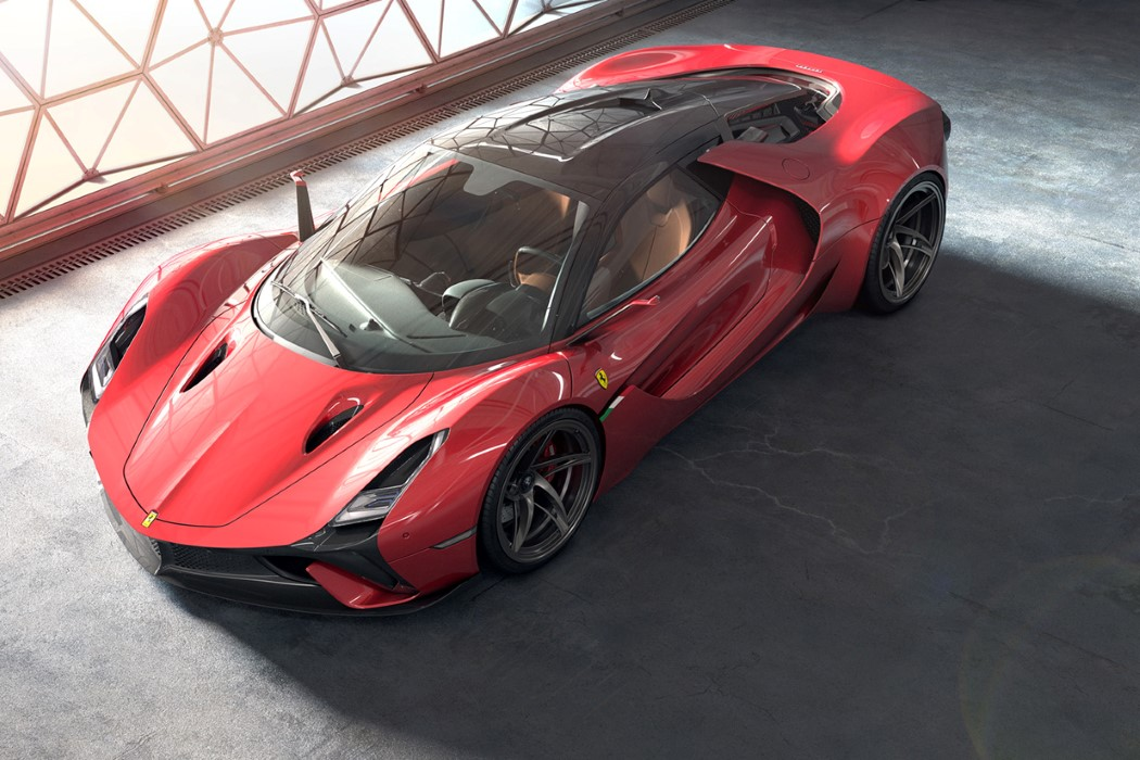 This Might Be Ferrari S Sexiest Concept Car And It Isn T Made By Ferrari Yanko Design