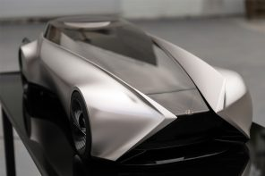 A shape-shifting Lexus concept inspired by the Japanese principle of light
