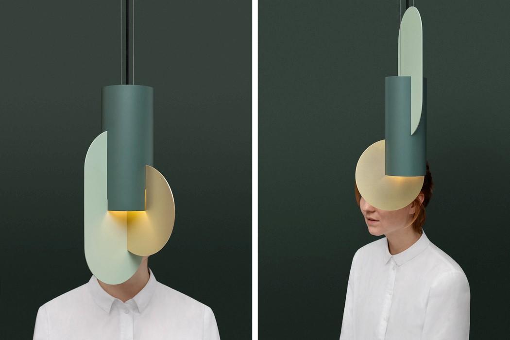 This Series Of Sheet Metal Lamps Look Like Suprematist Hanging