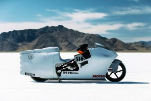 Max Hazan designs a racing bike that embraces a fighter jet aesthetic