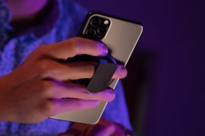 Move over, PopSocket… This smartphone grip-stand is razor-thin, magnetic, and more versatile