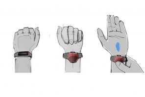 Spiderman-inspired wearable sanitizer that gives you the great power to remain safe