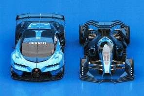 Bugatti's most realistic Formula 1 race car was designed by a talented intern