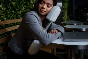 The world's first 'convertible pillow' transforms in shape to let you nap anywhere