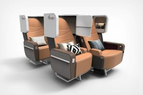 Post Covid-19 air travel: Redesigned flight seating that makes traveling safe and luxurious