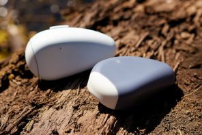 This wearable belt-bottle makes it easy to carry hand sanitizer with you wherever you go