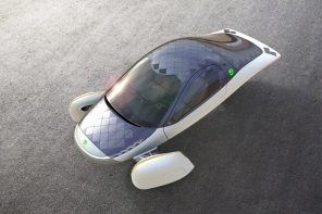 This solar panels covered electric car solves the charging time issues of its competitors!