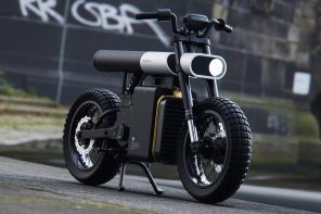 This e-bike changes the fundamental visual template of motorcycle design
