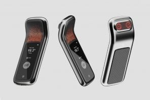 An infrared thermometer + biometric scanner that logs employee attendance as well as health!