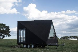 Scandinavian design-inspired portable cabin that looks good from every angle