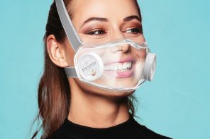 Finally, a transparent face mask that allows us to breathe clean air but still be social!