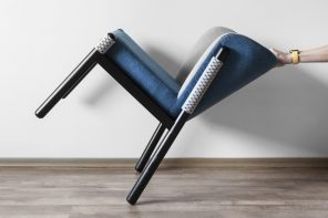 This chair inspired by the Japanese katana is mightier than the sword