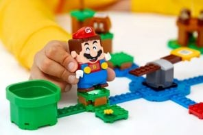 Lego built a real-life customizable Super Mario kit with drainpipes, killer mushrooms, and Bowser!