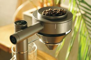 This drip coffee machine combines multiple accessories to upgrade your brew!