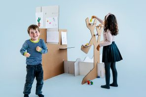 This $65 DIY furniture kit is designed to creatively balance at-home learning and play!