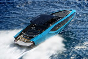 How Lamborghini successfully carried over its racecar design language onto a luxury yacht