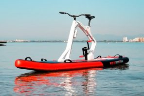 World's only cycle that comes with an inflatable paddleboard is the ultimate summer essential!
