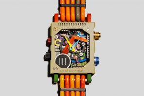 This watch aims to repurpose the tonnes of electronic waste generated every year!