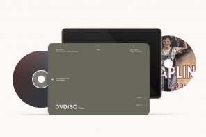 A portable DVD player+display designed to make binge watching easy for the elderly