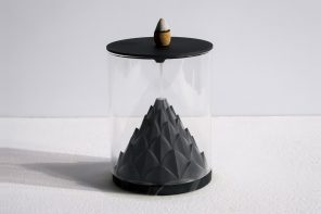 Terrarium-inspired backflow incense burners are the perfect combination of tranquility and zen