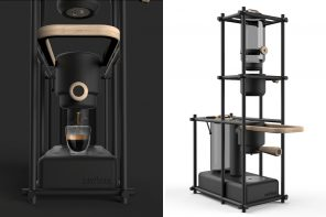 This Lavazza espresso machine blends art and science to give you a unique brewing experience!