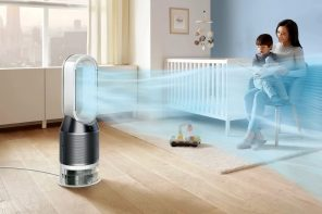 Dyson's new bladeless fan also humidifies as well as purifies your air with a UV-lamp