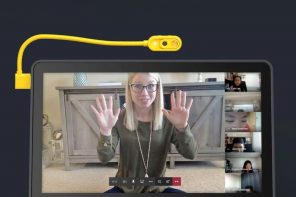 "This flexible ""point-anywhere"" webcam allows you to have more dynamic Zoom video calls"