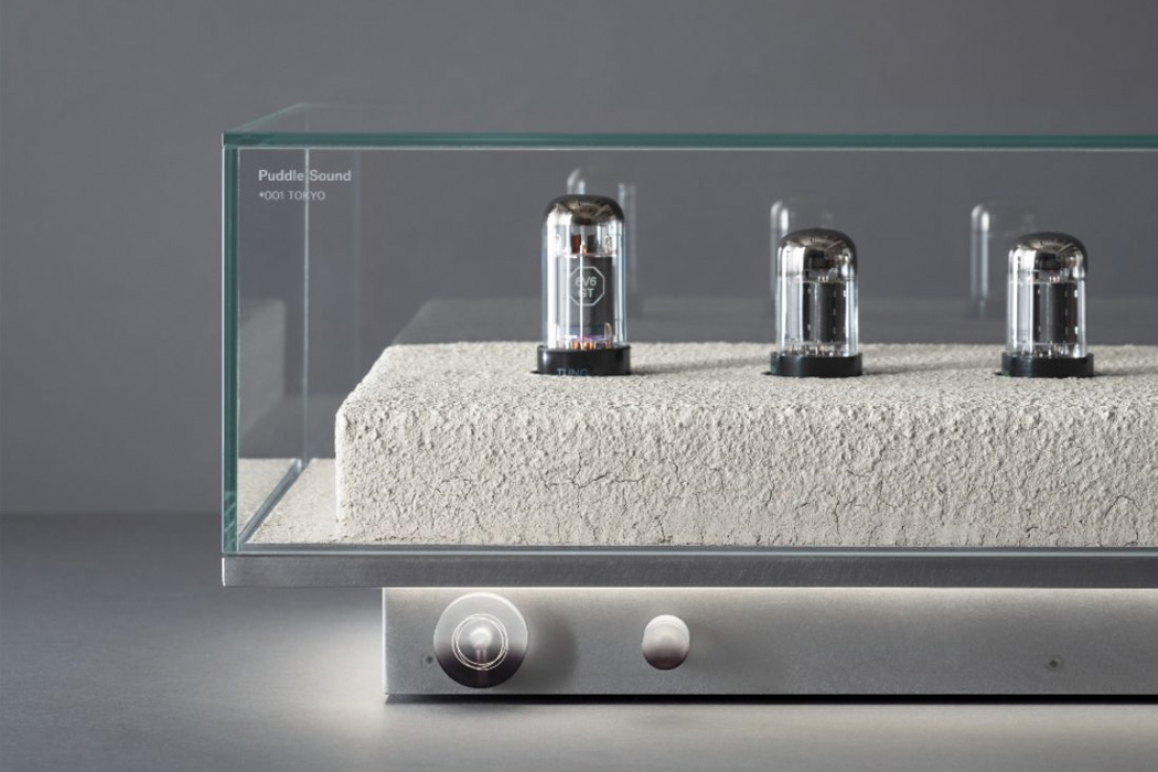 This architecture-inspired artistic amplifier delivers an immersive experience of the Tokyo soundscape!