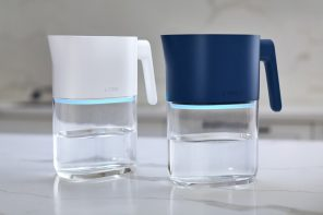 This innovative pitcher goes beyond filtration to purify your drinking water with UV-C light