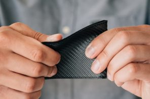 This is the thinnest, strongest, and possibly the lightest bi-fold wallet in the world