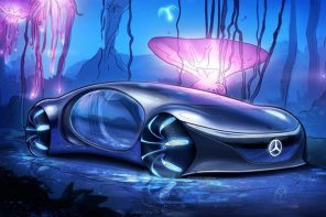 Automotive Inspiration: Mercedes Benz VISION AVTR releases video + sketches showing the car in action!