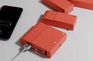 Google PixelBloc Modular Power-bank lets you stack up external chargers for a bigger battery!