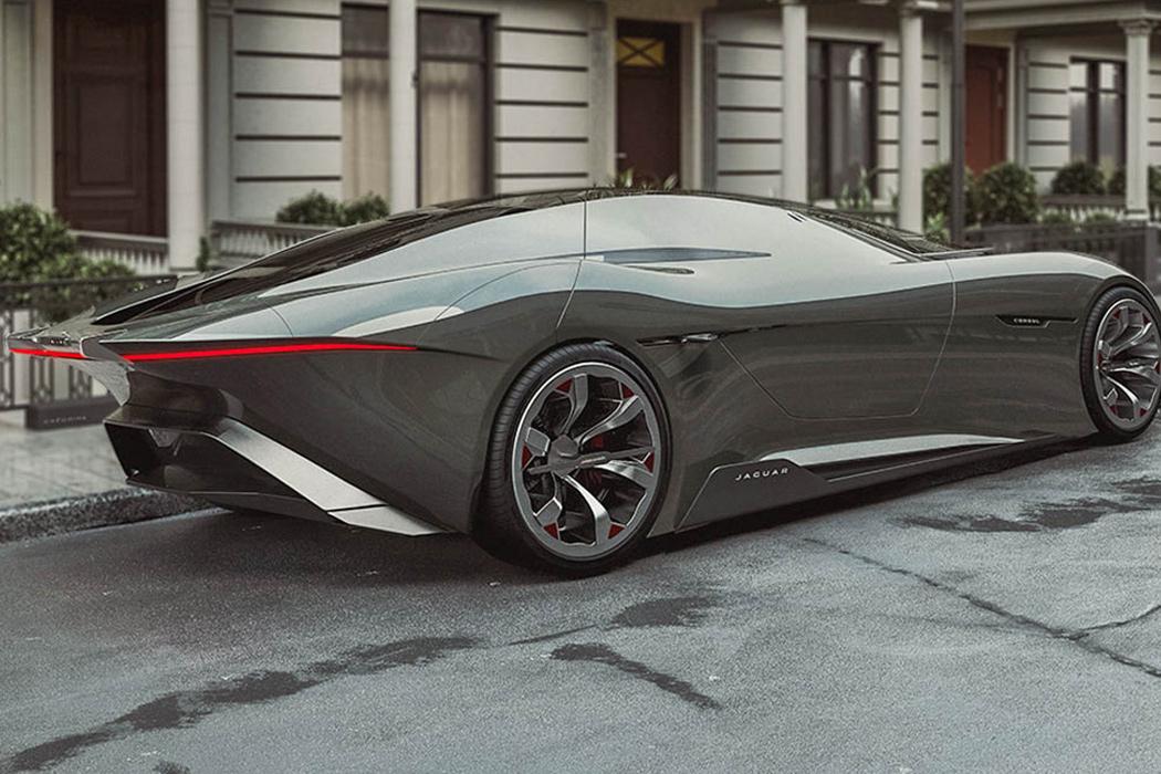 Jaguar Consul is an autonomous coupe way ahead of its time