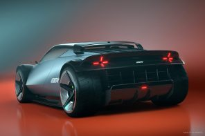 This Lancia Stratos concept shows off a newer, edgier car to commemorate 50 years of the original design!