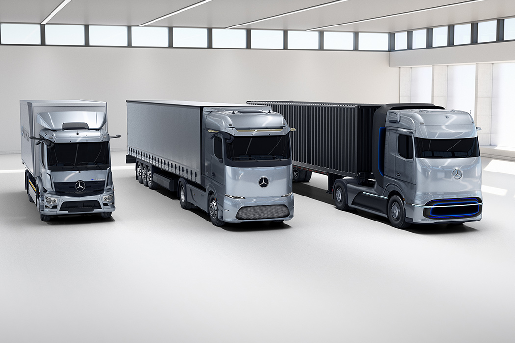 Mercedes-Benz releases a trio of electric vehicles for the long and short of cargo deliveries!
