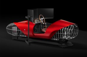 Pininfarina co-created high-end simulators to relive the rush of racing in the era of classic cars!