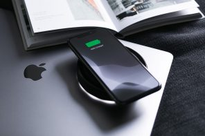 Portable wireless charger gives your phone and your mind a chance to re-energize!