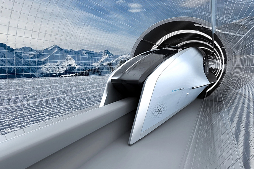 Stingray-inspired Maglev train zooms riders into the future of transportation