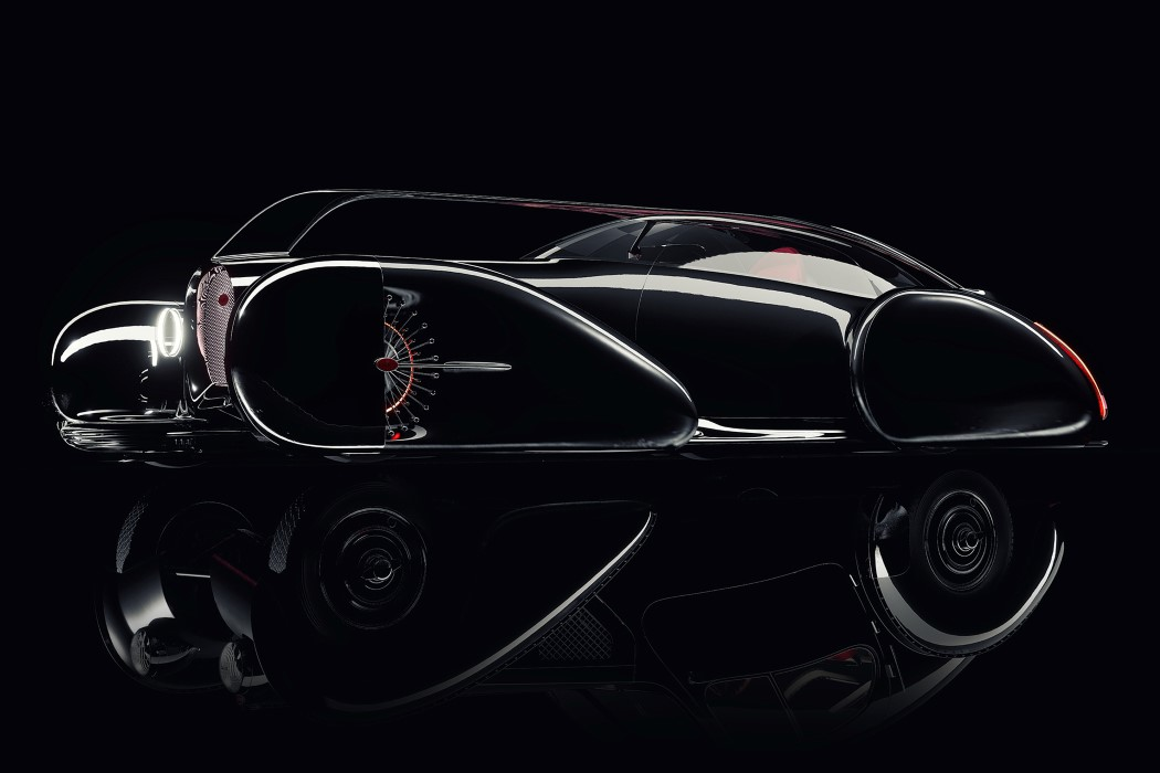 The Bugatti Next 57 Concept Looks Like A Glorious Chariot From A Steampunk Future Yanko Design
