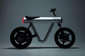 This e-bike has a chassis like no other…