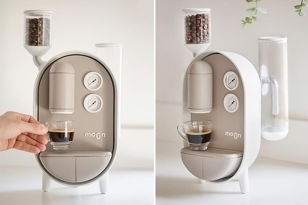 This moon coffee maker will make your morning missions easy!