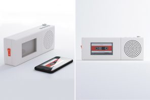 This Dieter Rams-inspired speaker lets you focus on the music and without any smartphone distractions!