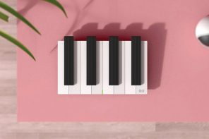 This piano-inspired wifi router is like music for your eyes!