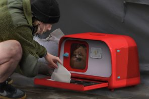 This pet home and carrier is an emergency kit designed to safely evacuate your pets during disasters!