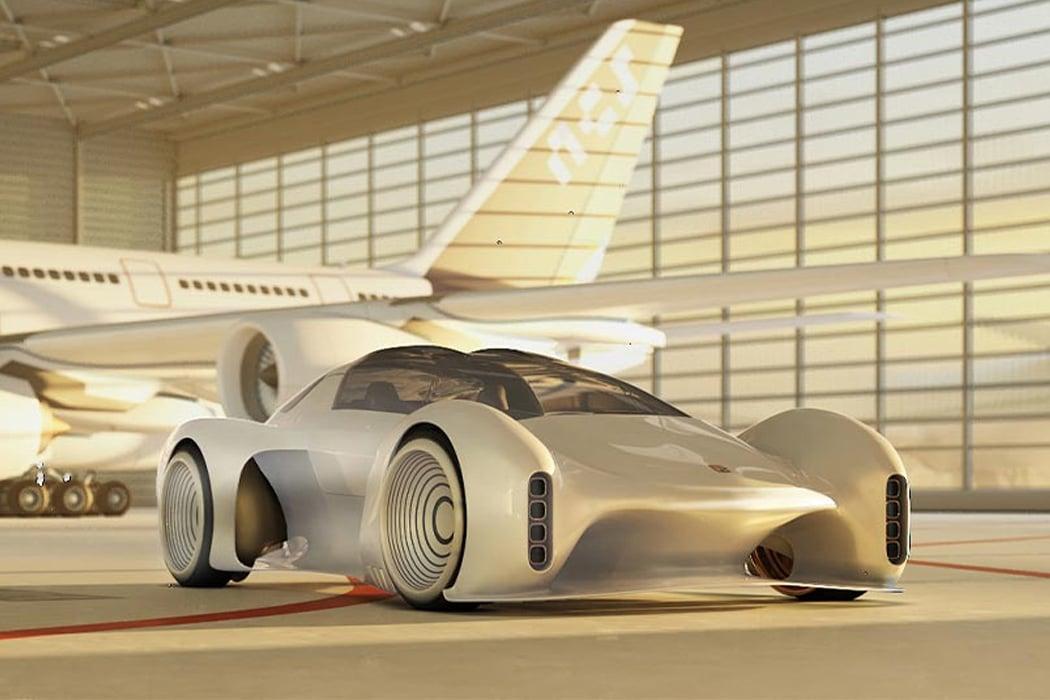 This Porsche 411 concept reimagines the classic 911 with autonomous driving and futuristic design