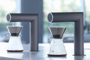 This Robotic Coffee Maker is designed to brew your perfect pour-over coffee!