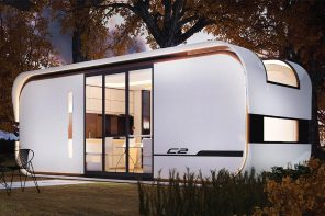 This AI-enabled tiny home increases the usable area by 15% compared to a traditional house!