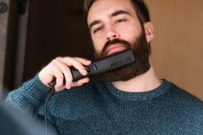 World's first professional beard straightener gets you ready for a dapper looking No-Shave November