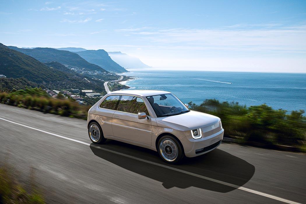 The Fiat 126 Reimagined As An All Electric Vehicle Evokes Nostalgia Through Its Modern Design Yanko Design