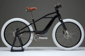 Harley-Davidson unveils a stunning e-bike that pays homage to their iconic 1903 design!